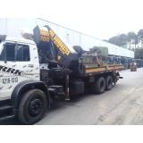 aluguel de guindaste para caminhão leve Suzano