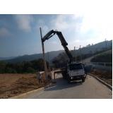 empresa para transporte de máquinas pesadas construção civil Vila Andrade