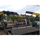 locação caminhão munck para montagem valor Taboão da Serra