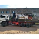 locação de caminhão munck com cesto preço Itaquaquecetuba