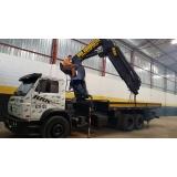 locação de caminhão munck diária barato Barra Funda