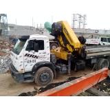 locação de caminhão munck para obra