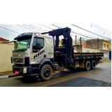 locação de caminhão munck por hora barato Água Funda