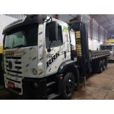 locação de caminhão munck por hora valor Biritiba Mirim