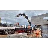 locação de guindaste para construção civil preço Sacomã