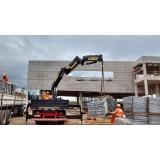 locação de guindaste para construção civil Parque do Carmo