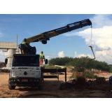 locação de guindastes para construção civil Barra Funda