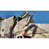 locação de guindastes para montagem de galpão preço Caieiras