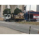 remoção de máquinas pesadas construção civil valor Itaquaquecetuba