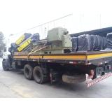 transporte de máquinas mais barato Caieiras