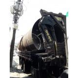 transporte de máquinas pesadas José Bonifácio