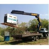 transporte e remoção de máquinas preço Parque do Carmo