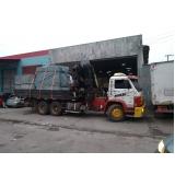 transporte para máquinas valor Butantã