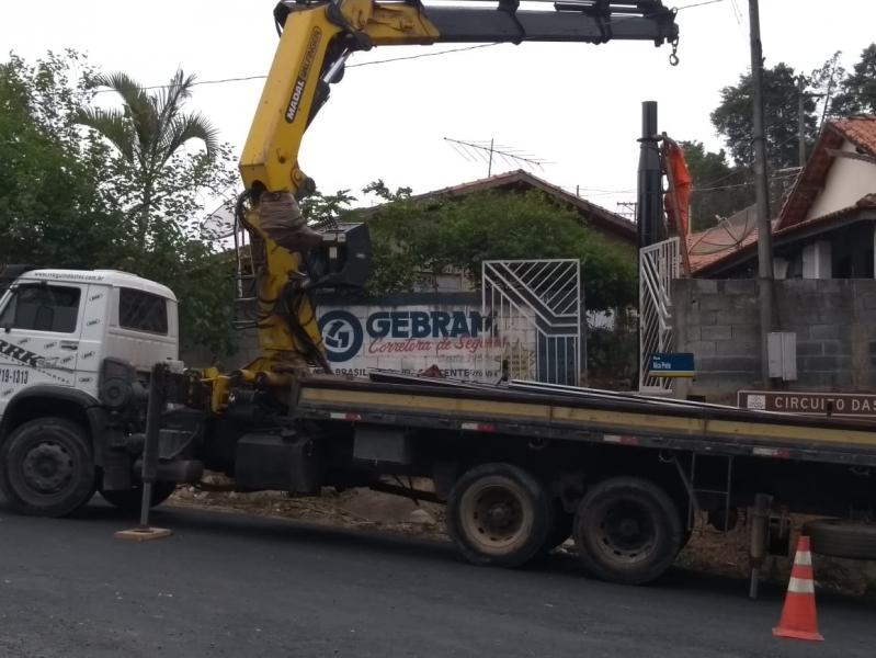 Aluguel de Guindaste Diária Barato Rio Pequeno - Aluguel de Guindaste para Caminhão