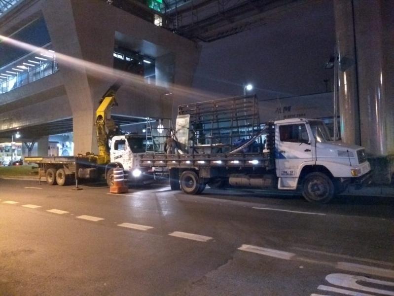 Aluguel de Guindaste para Caminhão São Mateus - Aluguel de Guindaste para Caminhão