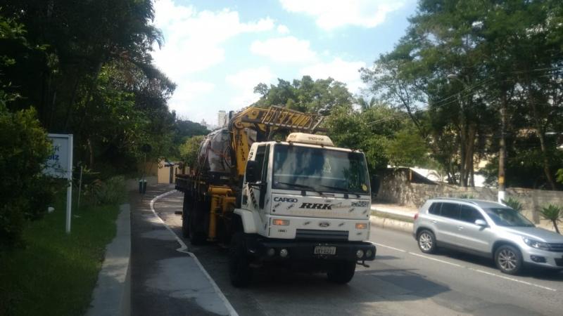 Aluguel de Guindastes para Construção Civil Pari - Aluguel de Guindaste para Caminhão