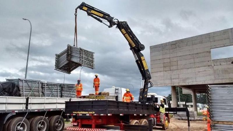Empresa para Locação de Guindaste de Container Freguesia do Ó - Locação de Guindaste de Obra