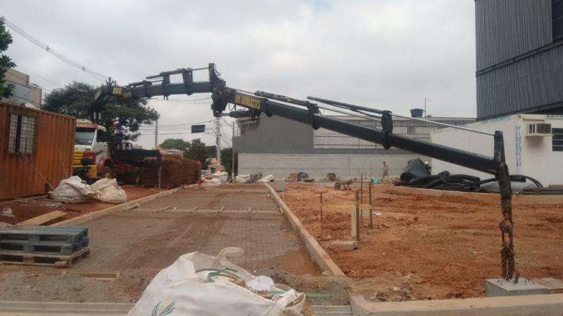 Locação de Caminhão Munck com Cesto Aéreo Preço Guaianases - Locação de Caminhão Munck Guindaste