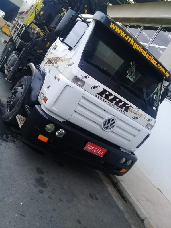 Locação de Caminhão Munck por Hora Alto de Pinheiros - Locação de Caminhão Munck para Container