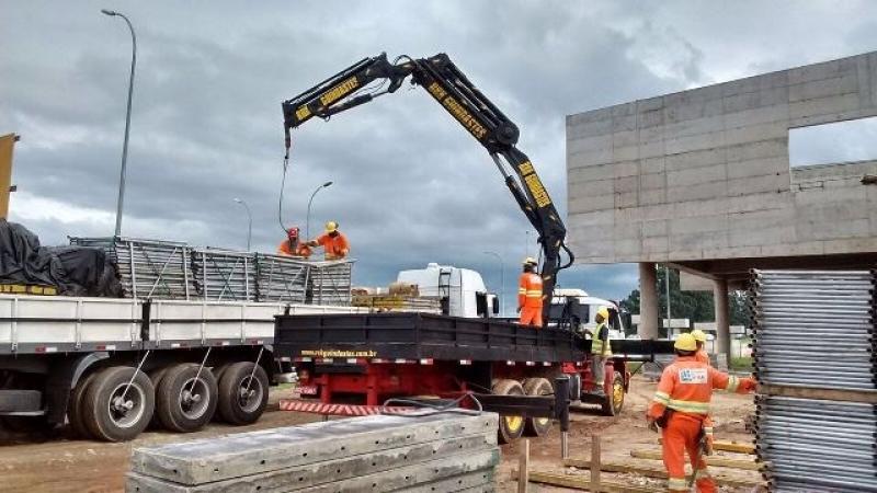 Locação de Guindaste para Construção Civil Preço Jundiaí - Locação de Guindaste para Caminhão Leve