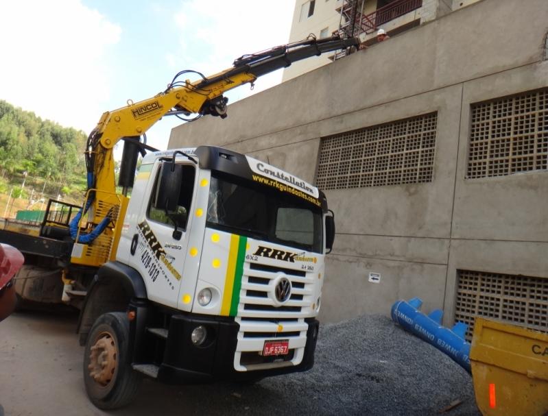 Locação de Guindaste para Obras em Geral Barato Lauzane Paulista - Locação de Guindaste para Caminhão Leve