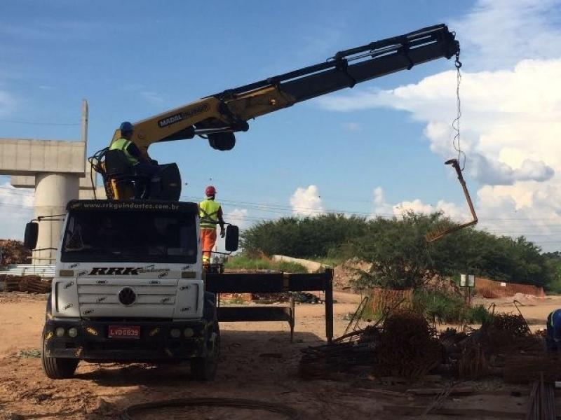 Locação de Guindastes para Construção Civil Barra Funda - Locação de Guindaste de Container