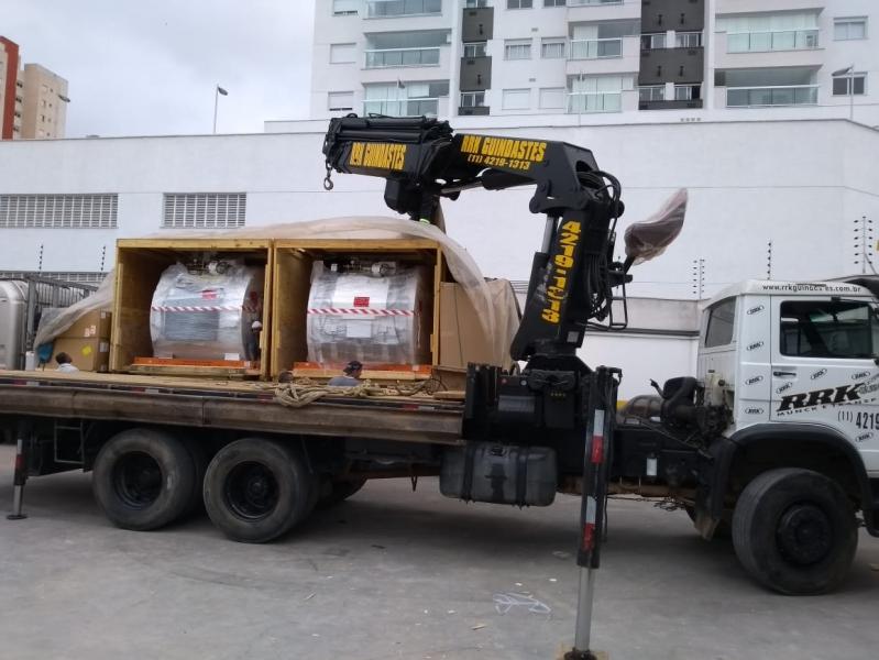 Onde Encontro Caminhão Munck para Locação Salesópolis - Locação de Caminhão Munck Guindaste
