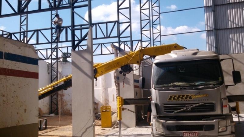 Qual o Preço de Aluguel de Guindastes para Montagem de Galpão Pirituba - Aluguel de Guindastes para Construção