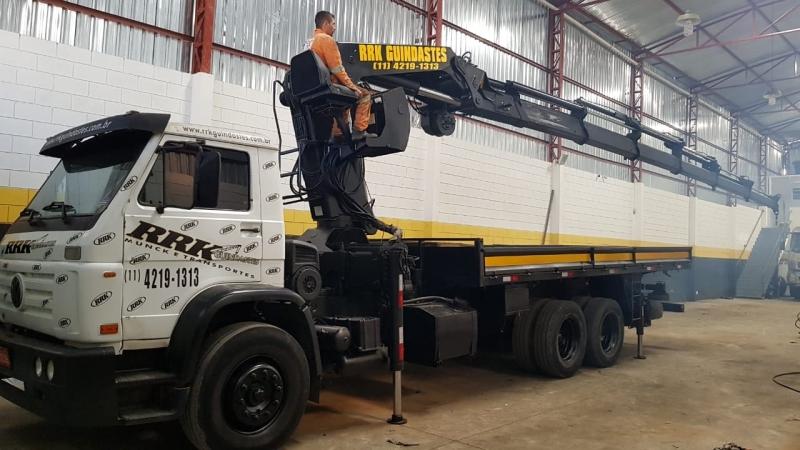 Quanto Custa Locação de Caminhão Munck Diária Poá - Locação de Caminhão Munck com Operador