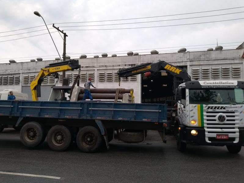 Remoção de Máquinas Pesadas Antigas Preço Cajamar - Transporte e Remoção de Máquinas