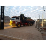 aluguel de caminhões guindastes Santa Efigênia