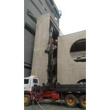 aluguel de guindaste para elevação de cargas preço Vila Formosa