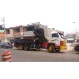 caminhão munck para locação valor Aricanduva