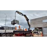 empresa para locação de guindaste de container Rio Grande da Serra