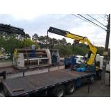 locação caminhão munck para montagem preço Itaquaquecetuba