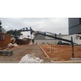 locação de caminhão munck com cesto aéreo preço Santana de Parnaíba