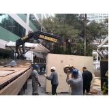 locação de caminhão munck guindaste valor Zona Norte
