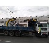 Locação Caminhão Munck para Montagem