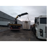 Locação de Caminhão Munck para Container