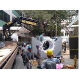 locação de caminhão munck para container Poá