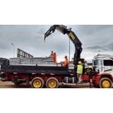 locação de caminhão munck para obra valor Jardim Iguatemi