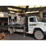 quanto custa locação de caminhão munck para obra em geral Santa Cecília