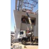 remoção de máquinas pesadas construção civil mais barato Ponte Rasa