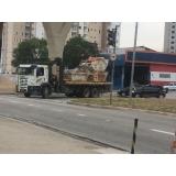 remoção de máquinas pesadas construção civil valor Itapevi