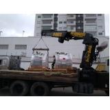 transporte de máquinas e equipamentos valor Jundiaí