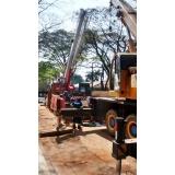 transporte de máquinas industriais preço Guarulhos