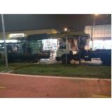 transporte de máquinas pesadas construção civil preço Vila Sônia