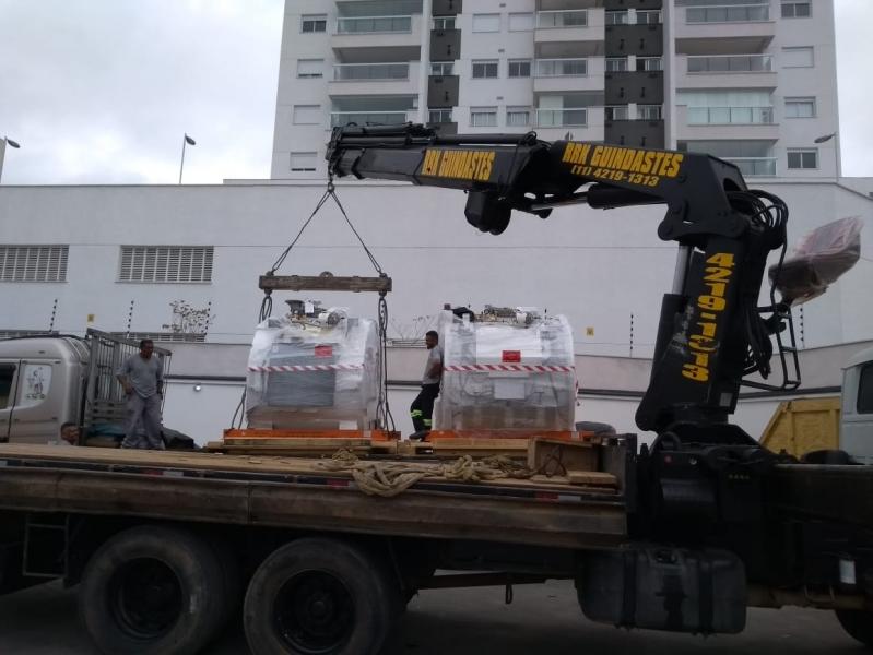 Transporte de Máquinas e Equipamentos Valor Lapa - Transporte para Máquinas Gráficas