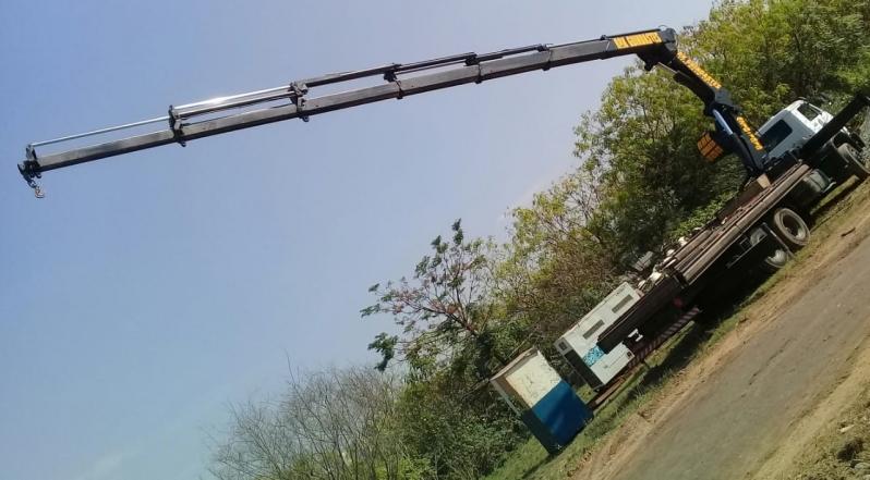 Transporte de Máquinas Industriais Valor Arujá - Transporte de Máquinas Pesadas Construção Civil